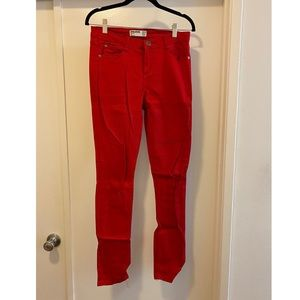 Cotton On | Red Jeans | Size 8